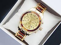 Женские кварцевые наручные часы Michael Kors со стразами, фото 1