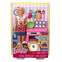 Barbie Барби кондитер пекарь шеф повар Bakery Chef Doll and Playset Blonde
