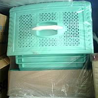 Комод пластиковый на 4 ящика бирюзовый