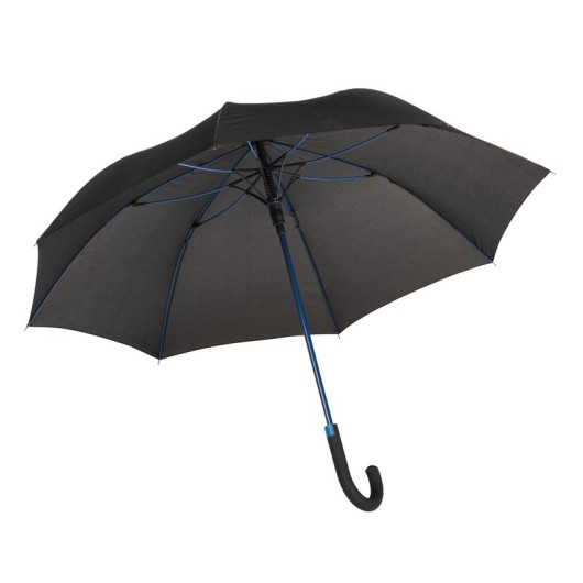 Зонт-трость c цветными спицами и ручкой CANCAN Синий
