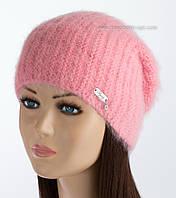 Стильная шапка-колпак Ребекка персиковая