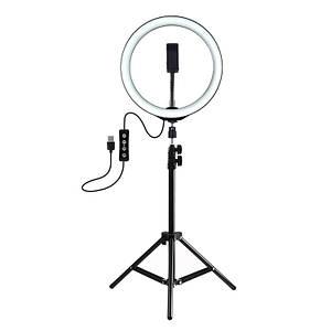 LED кольцо для блогеров (26 см. диаметр) + штатив(110см)Puluz
