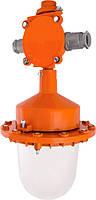 Світильник вибухозахищений НСП 21Вех-200-101 1ЕхdIIBT4, 200Вт, IP65, транзитне підключення, кріплення на трубу