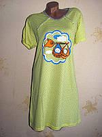 Женская хлопковая ночная рубашка, 50-52, 58-60 размер