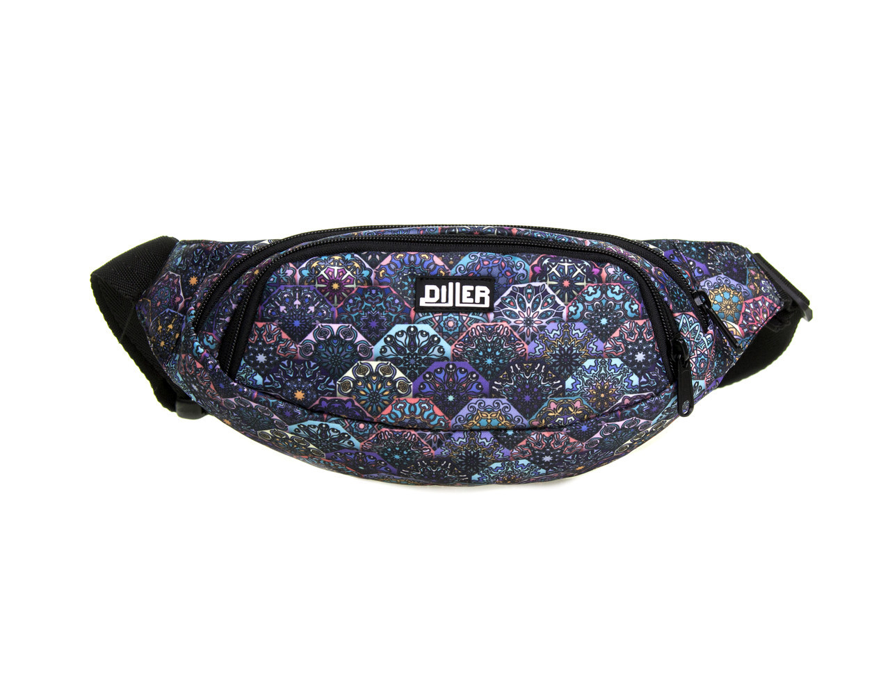 Поясная сумка Purple Tile
