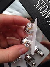 Серьги-пусcеты Dior, фото 2
