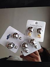 Серьги-пусcеты Dior, фото 3