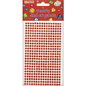 Стразы самоклеющиеся красные Maxi MX61605-07