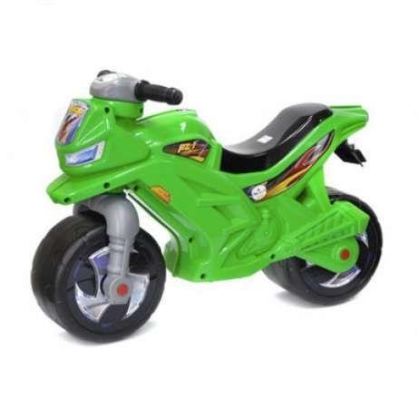 Мотоцикл 2-х колесный, зеленый  sct