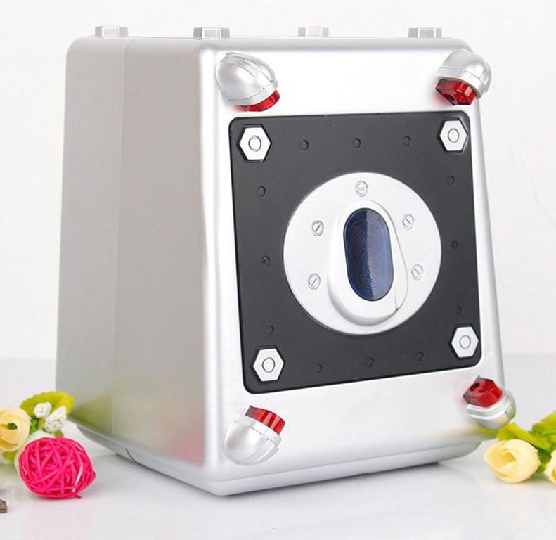 Дитяча скарбничка SUNROZ Laser Beam Safe з кодовим замком Срібний (SUN5436)
