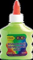 Салатовый непрозрачный клей для слаймов zibi zb.6113-15 на pva-основе 88 мл
