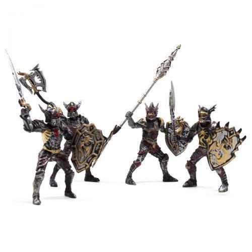 "Набор героев ""Dragon Knight"", 4 рыцаря 8910-107 sco"