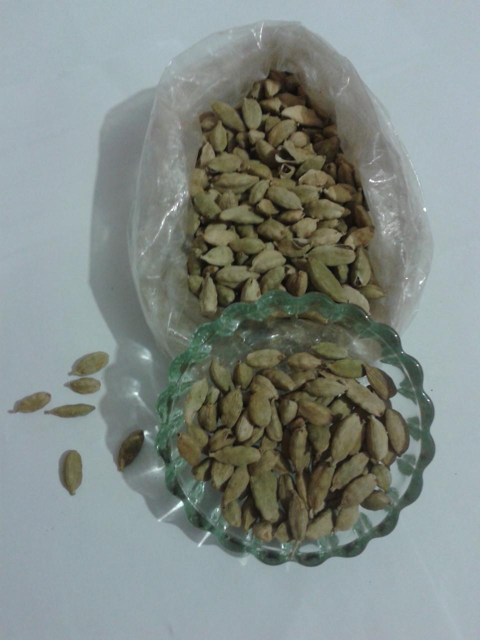 Кардамон зеленый в зернах, 100 г