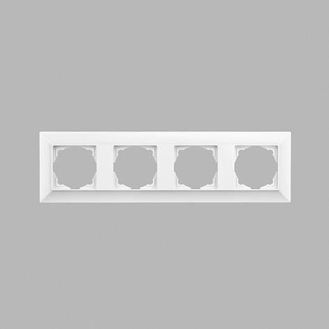 Neoline рамка 4-ая, белая, фото 2