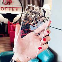 Прозрачный силиконовый чехол на Samsung Galaxy A30