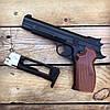 Набор пистолет пневматический SAS P 210 + баллоны + шарики BB (металл), фото 2