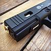Набор пистолет пневматический SAS G17 Blowback + баллоны + шарики BB, фото 6