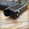 Набор пистолет пневматический SAS G17 Blowback + баллоны + шарики BB, фото 4