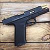Набор пистолет пневматический SAS G17 Blowback + баллоны + шарики BB, фото 7