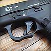 Набор пистолет пневматический SAS G17 Blowback + баллоны + шарики BB, фото 5