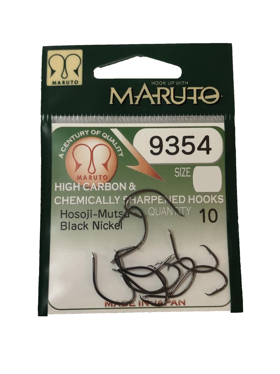 Крючок Maruto 9354 Black Nickel 10шт №2