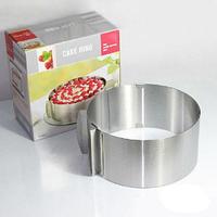 Форма для выпечки с регулируемым диаметром