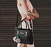 Сумка жіноча класична AINUOER Чорний, фото 10