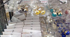 Сережки-пуссети Dior Пелюстка, фото 3