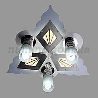 Люстра потолочная LED 10-8573/3 D400 WT