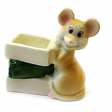 Статуэтка подставка под зубочистки Мышка