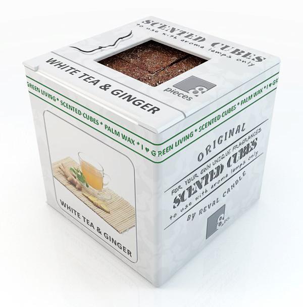Белый чай с имбирём.  Аромавоск, аромамасла, благовония, эфирное масло для аромаламп