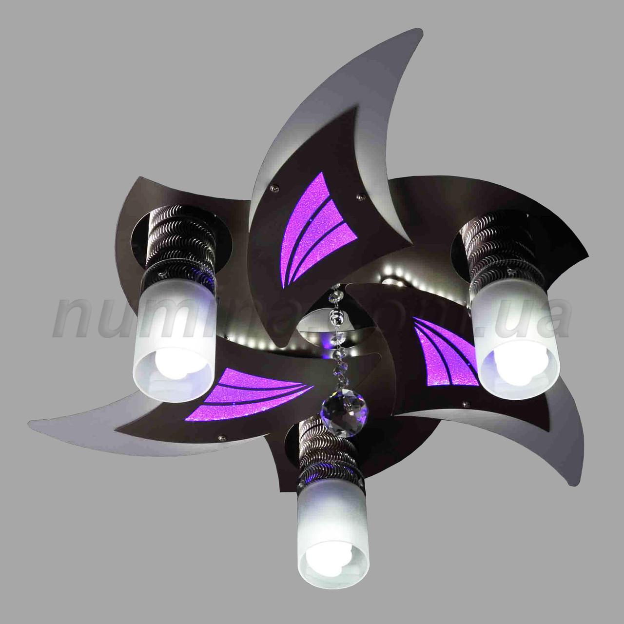 Люстра потолочная LED 10-8575/3 D400 WT
