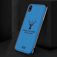 Чехол Deer для Xiaomi Redmi 7A с джинсовым покрытием (Разные цвета)