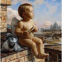 """Картина раскраска по номерам """"Амурчик"""" 40Х50см Babylon SW049"""
