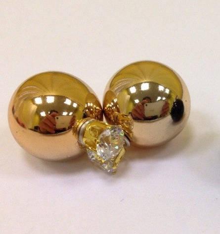 Сережки-пуссети Dior, фото 2
