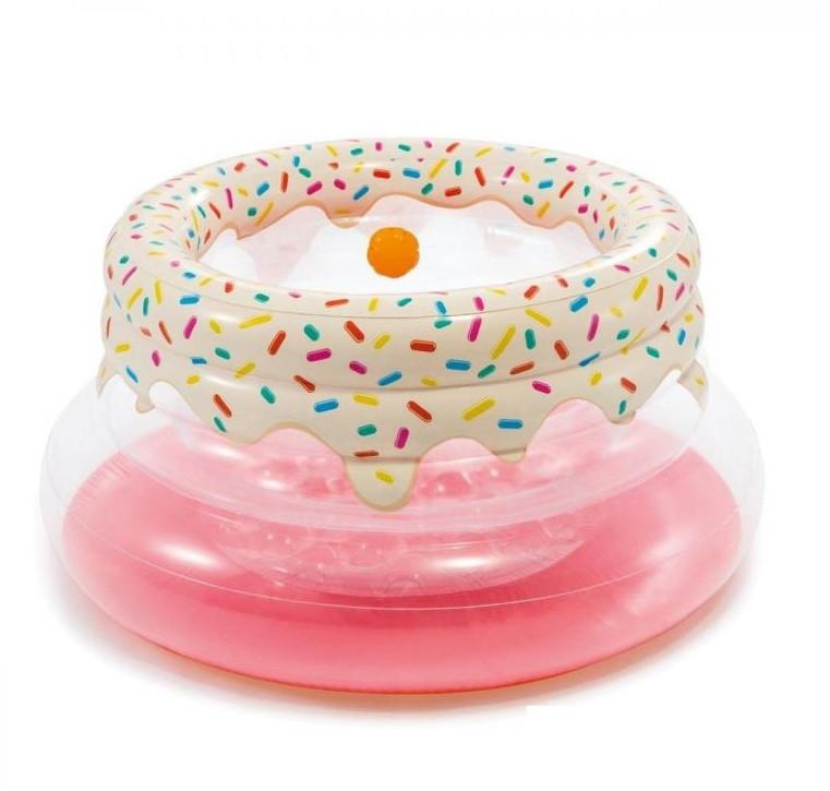 Надувной игровой центр манеж Intex «Пончик»