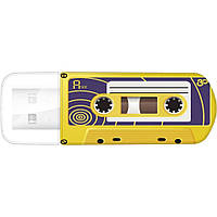 Флешка USB Verbatim 16GB Mini Cassette Edition Yellow USB 2.0 (49399)