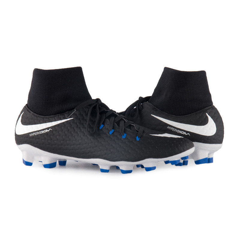 Бутси пластик Nike HypervenomX Phelon III DF FG 917764-002(01-09-03) 42.5