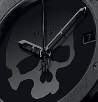 Мужские наручные часы Hublot Skull Bang. Кварцевые люксовые часы Hublot Skull Bang - Жми КУПИТЬ!