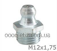 Пресс-маслёнка М12х1,75 DIN 71412 А, ГОСТ 19853-74