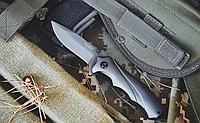 Нож складной- это небольшой флиппер в надежном корпусе, с металлической рукояткой, компактный, фото 1