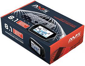 Автомобильная двусторонняя сигнализация с автозапуском AMS 8.1 Dialog