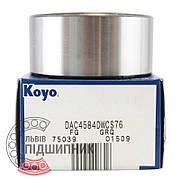 DAC4584DWCS76 [Koyo] Радиально-упорный шарикоподшипник