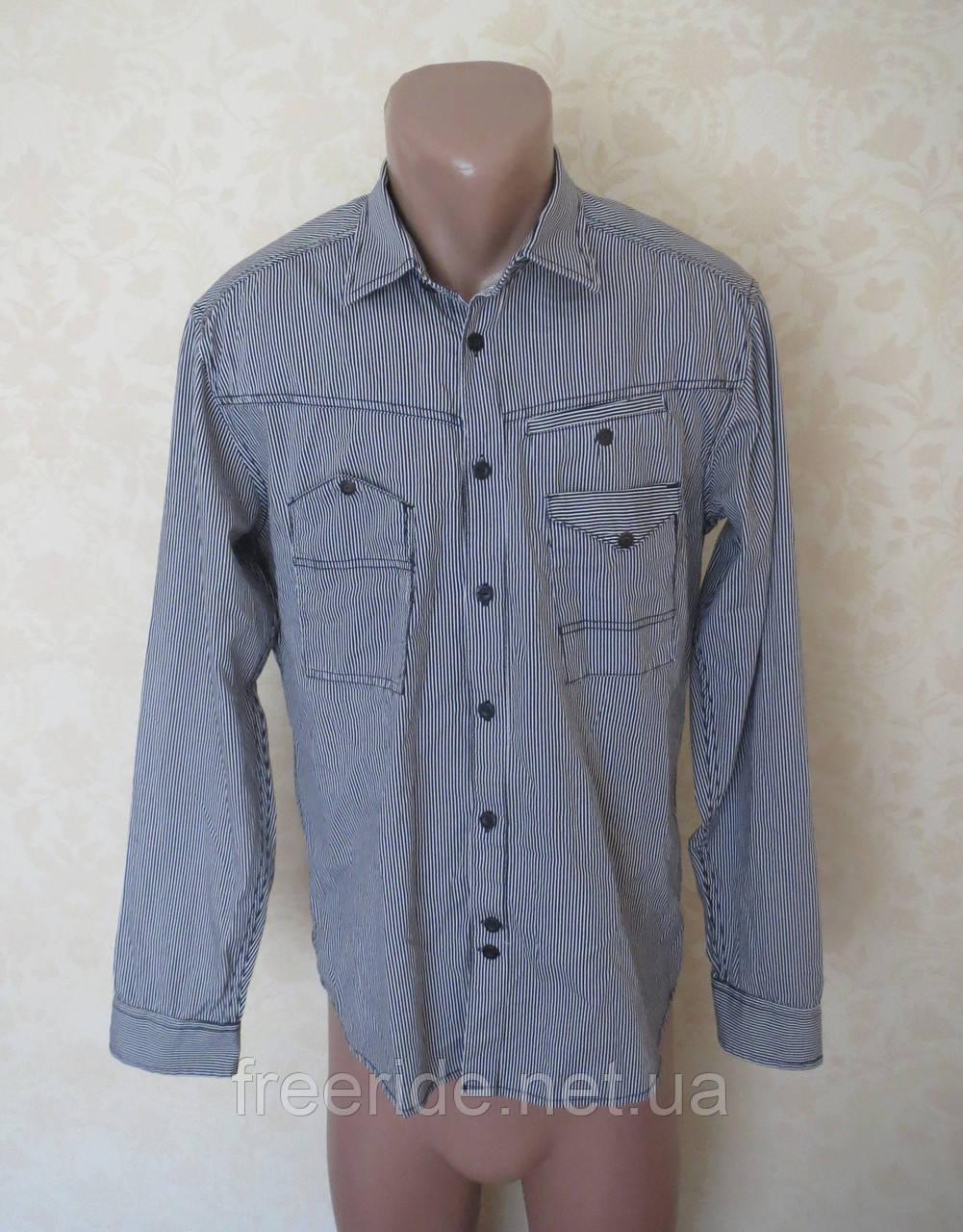 Фирменная стильная рубашка Jack & Jones (M)