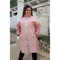 Женское пальто батал 05045 р 48-58, фото 1