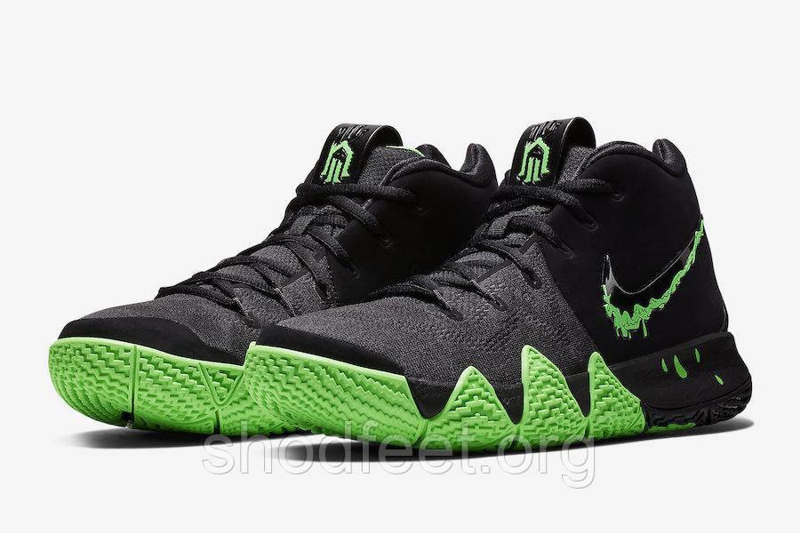 Чоловічі баскетбольні кросівки Nike Kyrie 4 Halloween Black Green