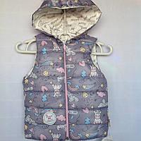 Детская жилетка для девочки оптом на 1-2 года, фото 1