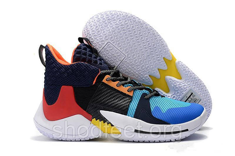 Кроссовки Air Jordan Why Not Zer0.2 PF Multi-Color