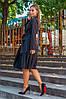 Платье жакет на запах с оборкой плиссе, фото 8