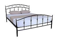 Белая кованая кровать двуспальная Летиция , фото 1